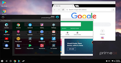 Download dan Cara Pasang PrimeOS V0.2.1 BETA