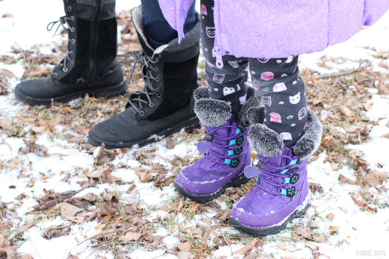 Kamik women and childrens boots