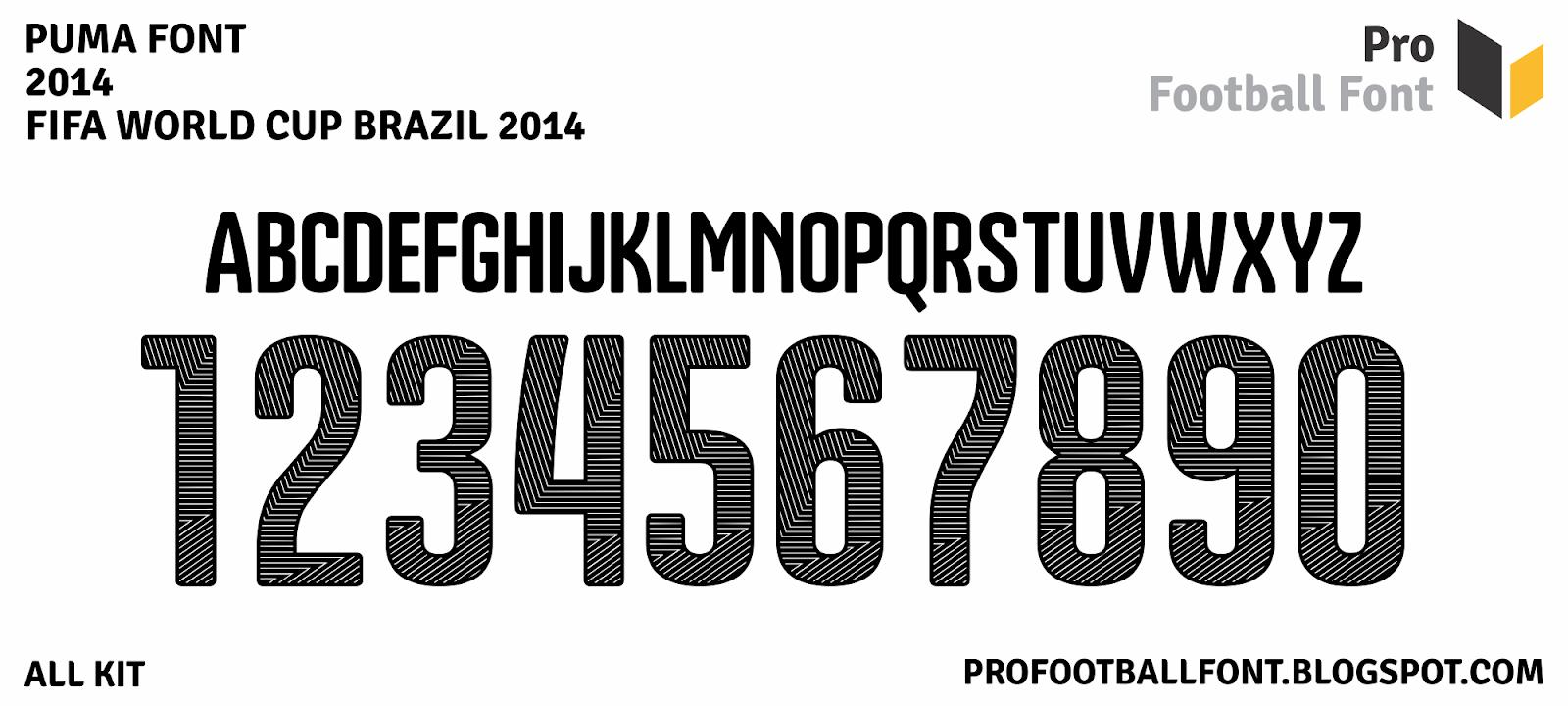 puma world cup 2014 font puma world cup 2014 font