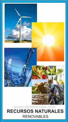 Recursos Naturales Renovables Y No Renovables Definición Y