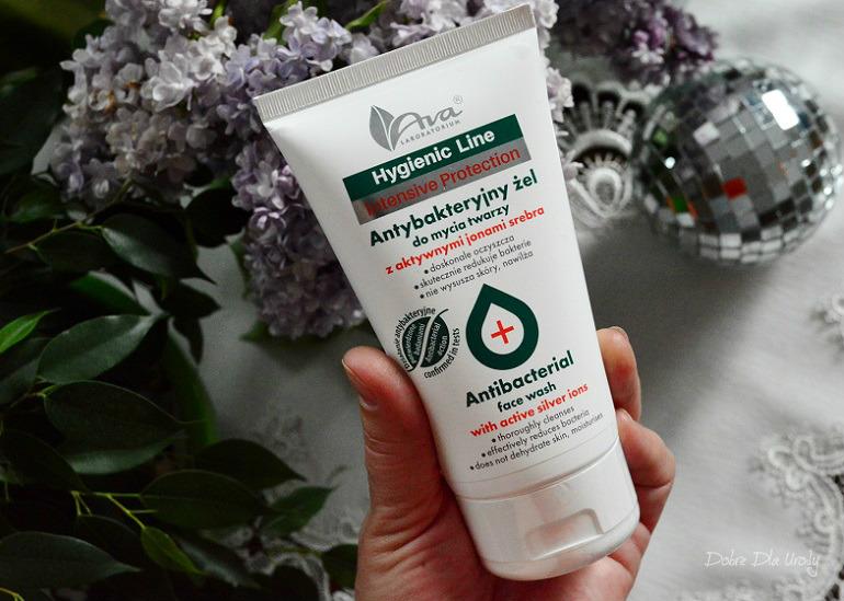 Ava Hygienic Line antybakteryjny żel do mycia twarzy - recenzja