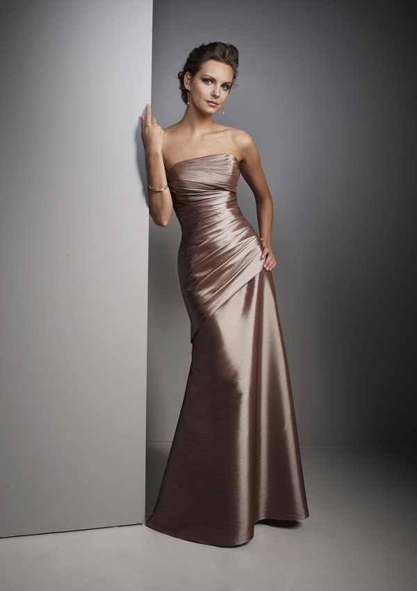Wedding Dress Styles: Winter Bridesmaid Dress