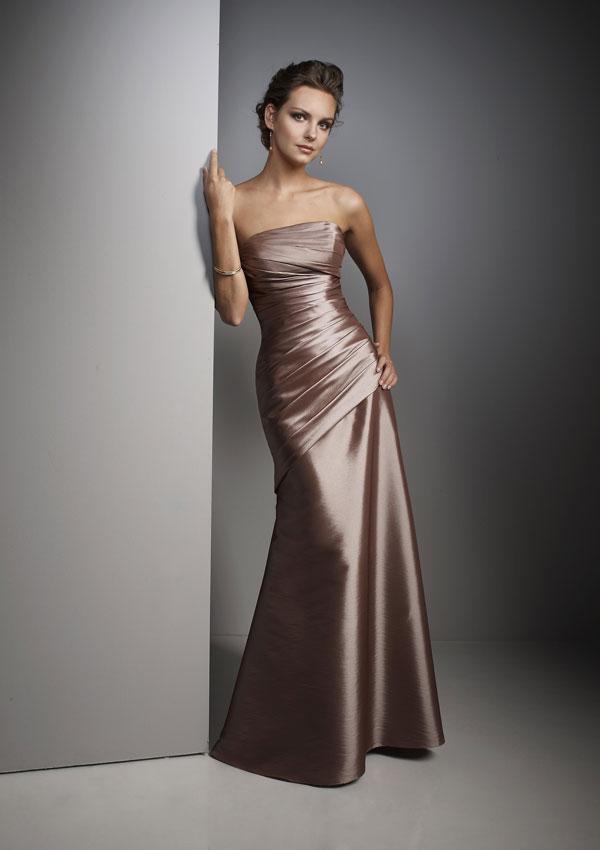 Wedding Dress Styles: Winter Bridesmaid Dress