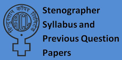 HCL Stenographer Previous Papers and Syllabus 2019-20