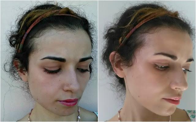 ootd, messy, boho, casual, braids, crown braid, bohemien, boho look, boho style, messy updo, look of the day,  retrò, minimal make-up look, Valentina Chirico