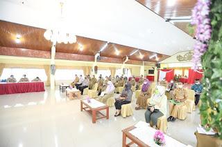 Rapat Koordinasi Pembahasan Penyelenggaraan Rapat Kerja Komisariat Wilayah V APEKSI