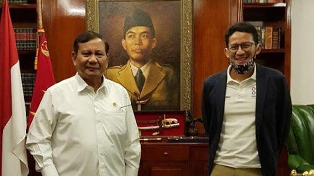Sandiaga Ogah Bicara Peluang Prabowo Jadi Capres Lagi pada 2024