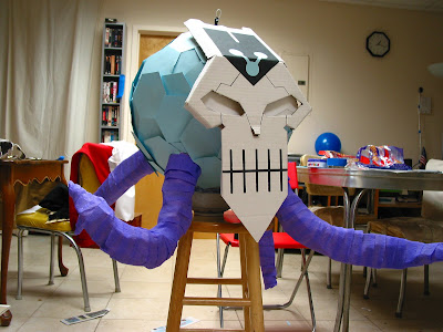 DC Animated Brainiac Piñata | RPF Costume and Prop Maker
