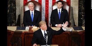 Pidato Pertama Trump di Kongres, Tekankan Penghapusan Obamacare dan Imigrasi