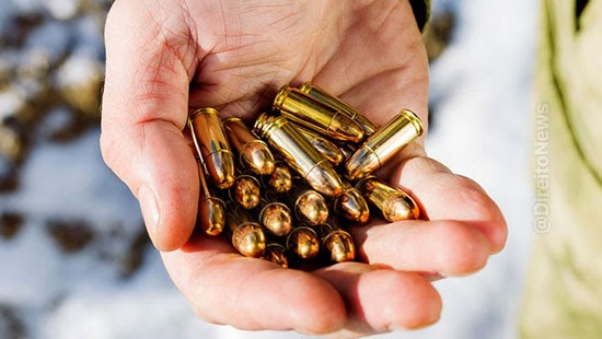 armamentismo stj cogitar rigor posse municao