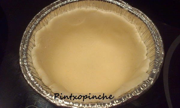 cocer en blanco, masa quebrada o masa brisa sin gluten, sin gluten, huevos, mantequilla, azúcar, harina