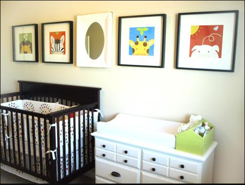 decorar la habitacion del bebe con poco dinero