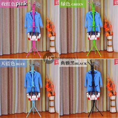 Stand Hanger Baju Multifungsi - Gantungan Baju Kuat