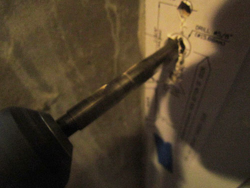 Basement Door Renovation Pt 6 Mounting The Handle Crawls