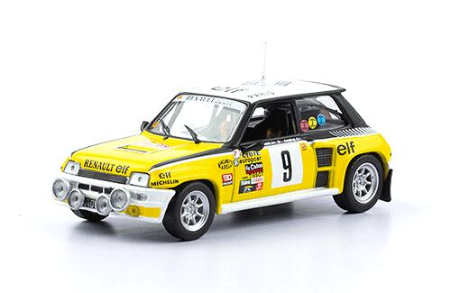 wrc coleccion salvat argentina, renault 5 turbo 1981 1:43 J. Ragnotti