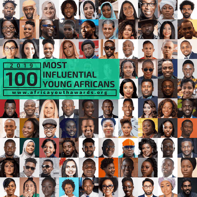 2019 100 Most Influential Young Africans Announced