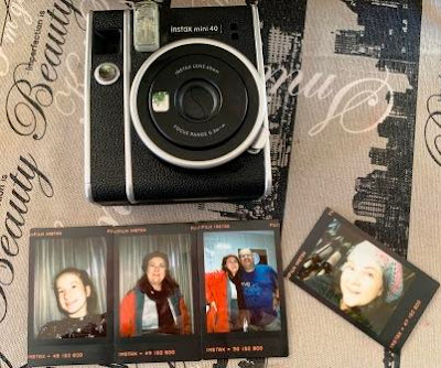 Instax Mini 40 with Contact Sheet Instant photos
