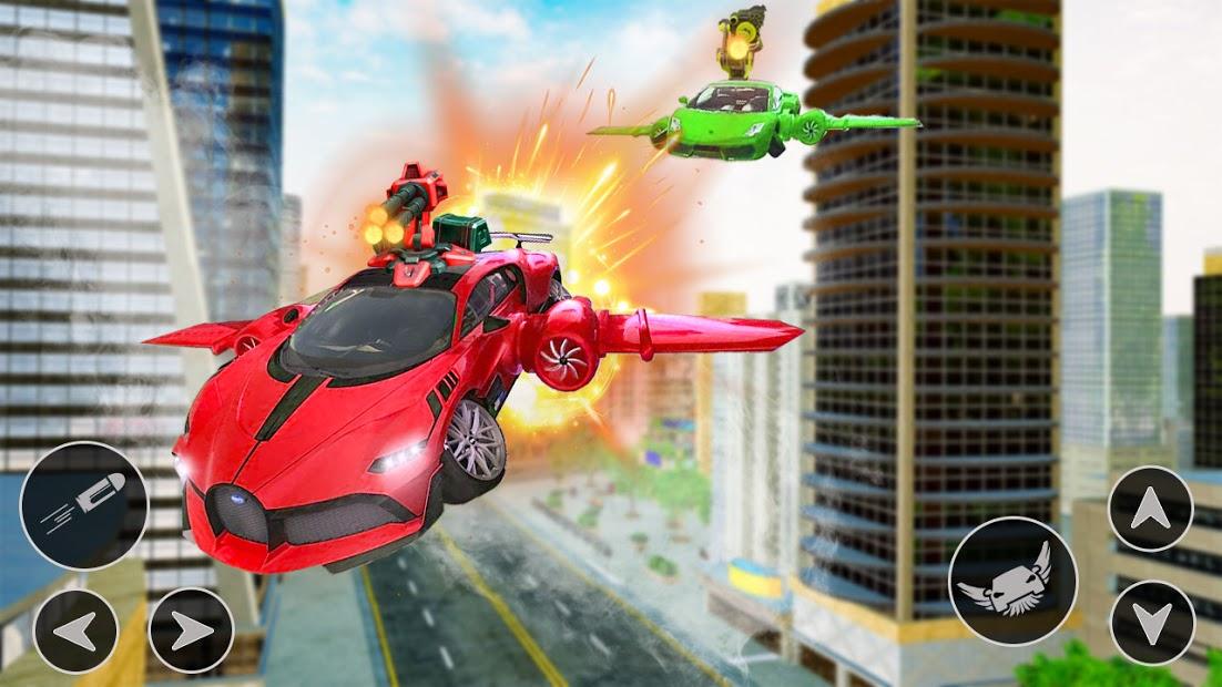 Flying Car Shooting Hileli APK - Para Hileli APK
