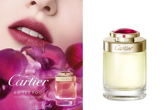 Abella's Beauty Blog: Baiser Fou by Cartier - A Passionate and intense Orchid Aroma perfume for Women