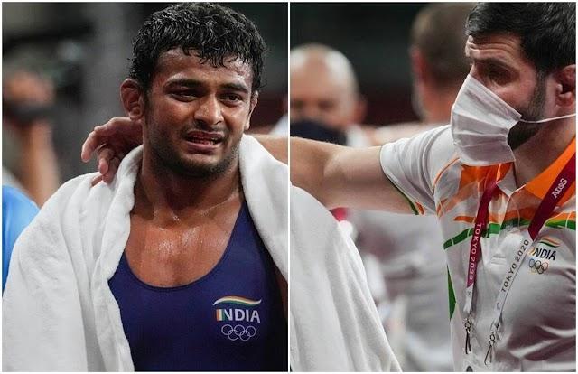 भारतीय पहलवान दीपक पुनिया के कोच मोराड गेड्रोव को किया ओलंपिक से बाहर