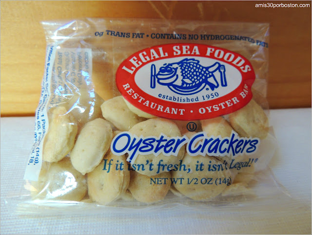 Oyster Crackers del Legal Sea Foods