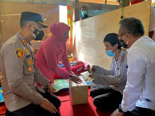 Enrekang Police Care (EPC) bersama Baznas Bersinergi Membantu Fauzul untuk Operasi Tumor Otak