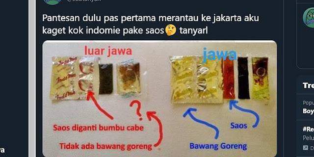 Viral, Foto Bumbu Indomie Goreng Ada 2 Macam, Ini Penjelasan Indofood