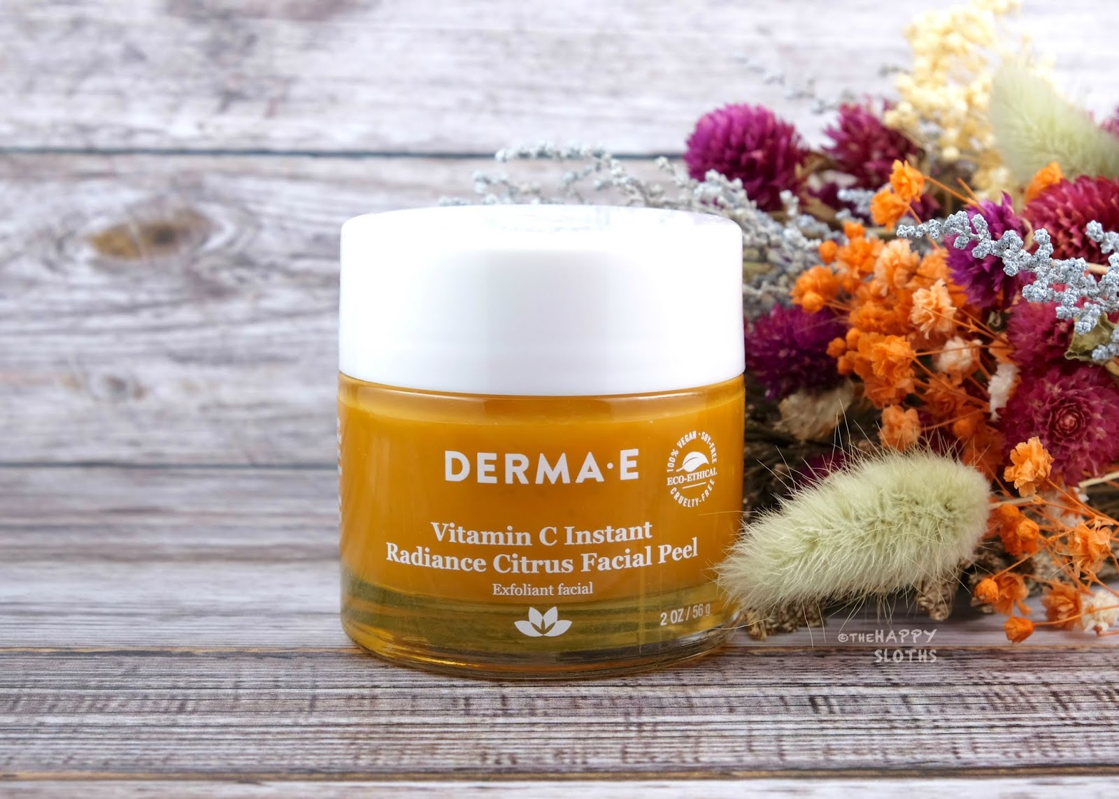 Derma E | Vitamin C Instant Radiance Citrus Facial Peel: Review