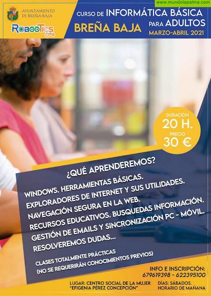 BREÑA BAJA: Curso de Informática Básica para adultos