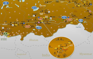 interactive tourist travel map TIBET
