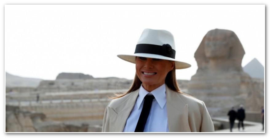 ماذا فعلتِ يا ميلانيا؟ خلال 6 ساعات فقط بالقاهرة، زوجة ترمب تنفق مبلغاً خيالياً!