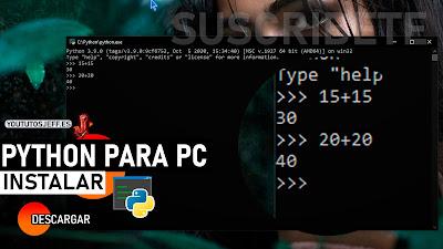 descargar python para pc