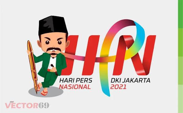 Hari Pers Nasional 2021 DKI Jakarta Logo - Download Vector File CDR (CorelDraw)