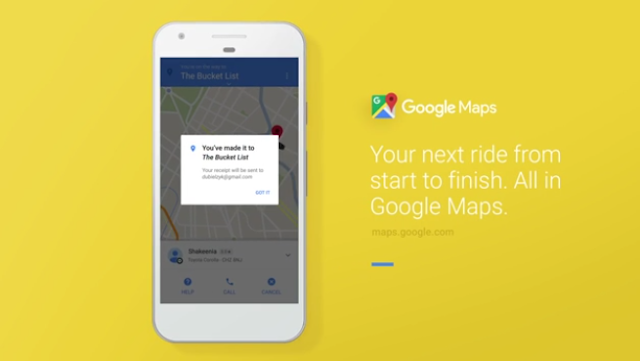 Google Maps v9.43 APK Update with 100% Native Uber integration and More