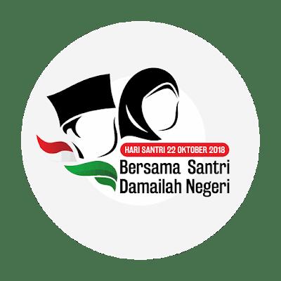 Download Logo dan Tema Hari Santri 2018