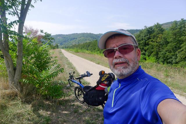 De Paris à Narbonne en vélo, il fait chaud