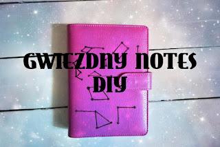 Gwiezdny notes DIY