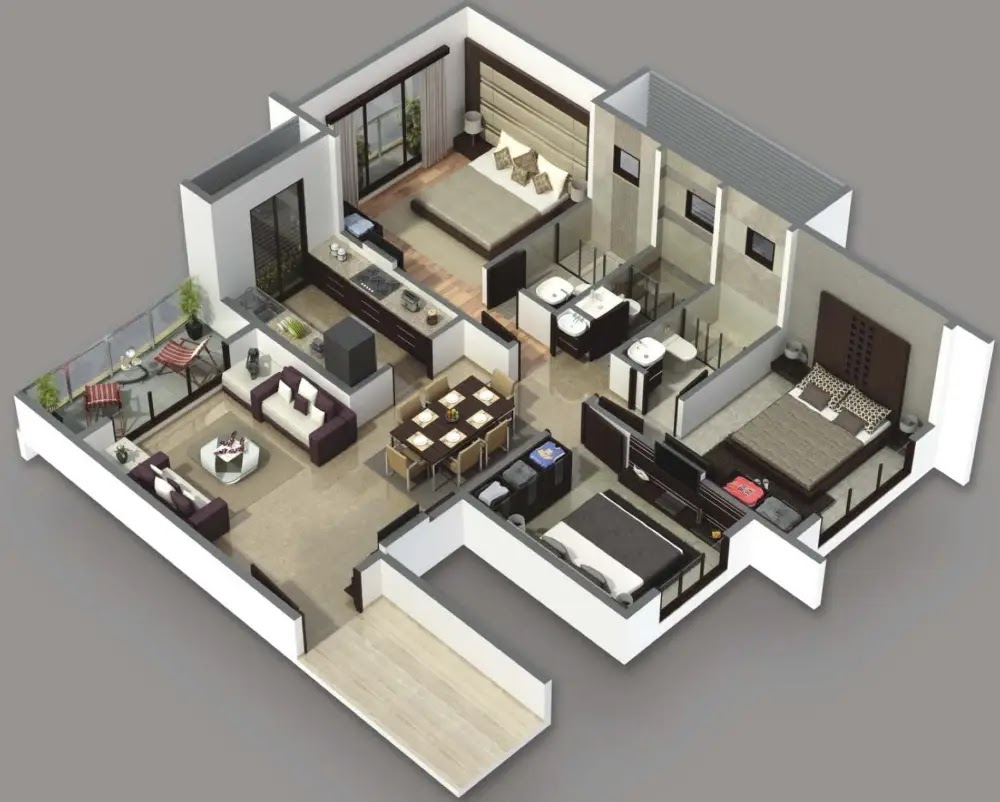Membuat Desain Rumah Minimalis 3 Kamar