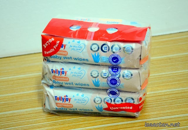 #3 Tollyjoy Baby Wet Wipes