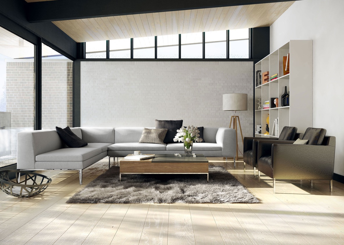 10 fotos de salas modernas que todos quisi ramos tener en for Sala design moderno