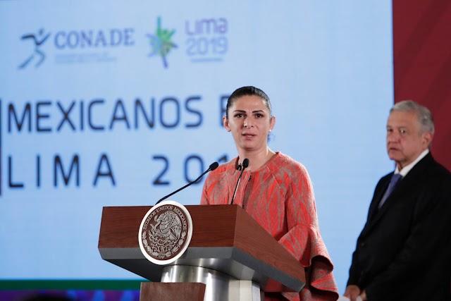 Demandan comparezca Ana Gabriela Guevara    por situación actual del deporte