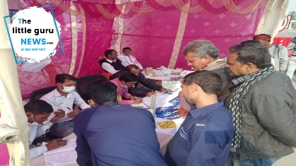 Tall-Way Limited set up eye checkup camp, hundreds benefited