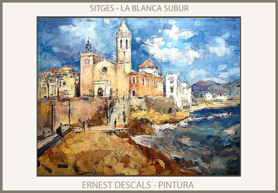 Pintura cuadros fotos ernest descals - Pintores de barcelona ...