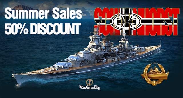 WORLD OF WARSHIPS SCHARNHORST DISCOUNT