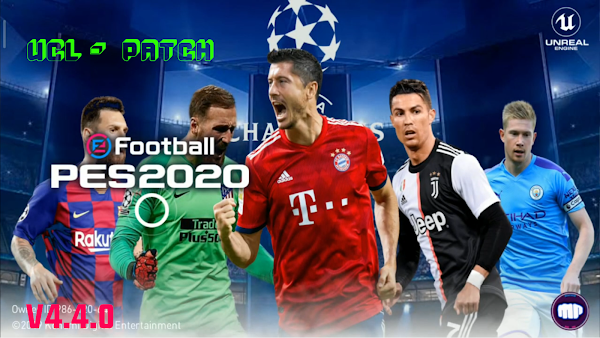 eFootball PES 2020 v4.4.0 UCL Patch Download