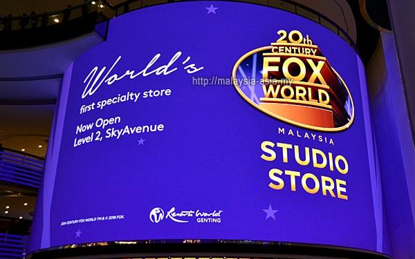 20th Century Fox Malaysia Studio Store
