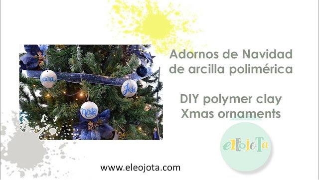 adornos navidad arcilla polimerica
