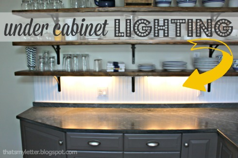 Diy Under Cabinet Lighting Jaime Costiglio