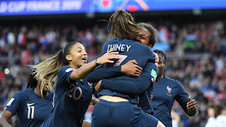 France Crush South Korea To Open Up Women's World Cup In Style