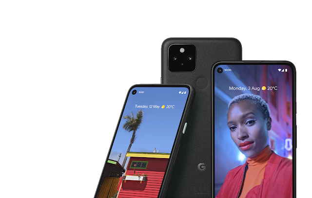 Pixel 4a with 5G and Pixel 5